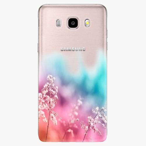 Silikonové pouzdro iSaprio - Rainbow Grass - Samsung Galaxy J5 2016