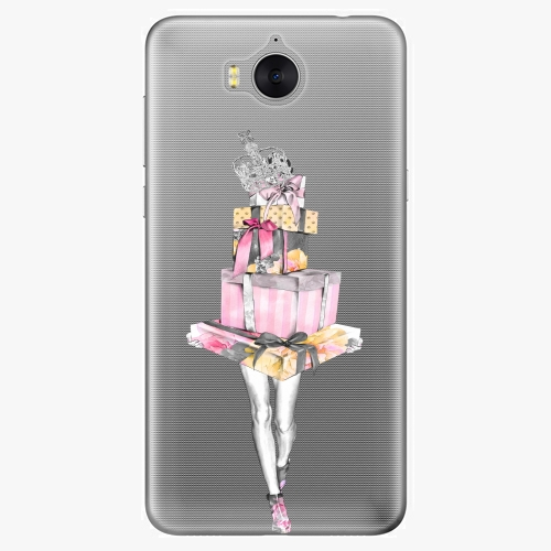 Plastový kryt iSaprio - Queen of Shopping - Huawei Y5 2017 / Y6 2017