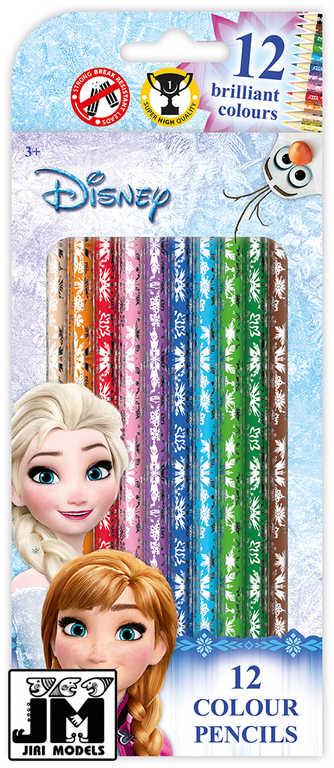 JIRI MODELS Pastelky set 12ks v krabičce Frozen (Ledové Království)
