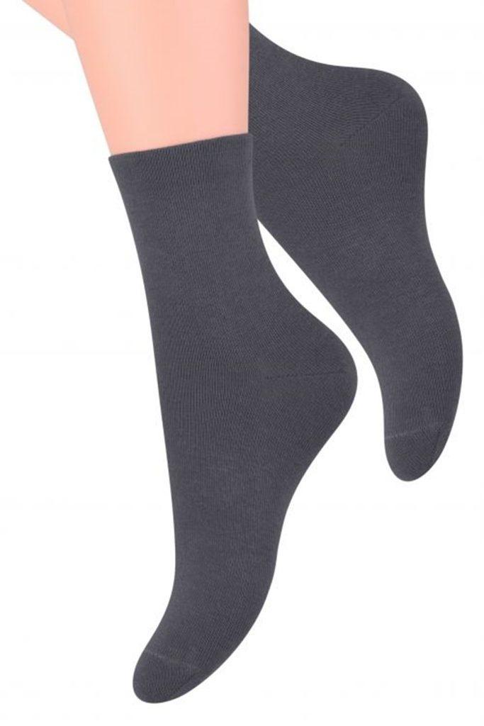 Dámské ponožky 037 dark grey