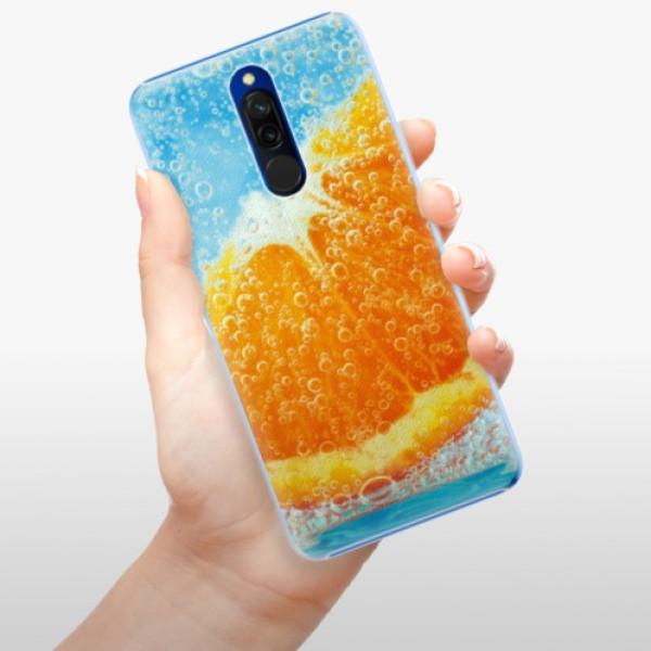 Plastové pouzdro iSaprio - Orange Water - Xiaomi Redmi 8