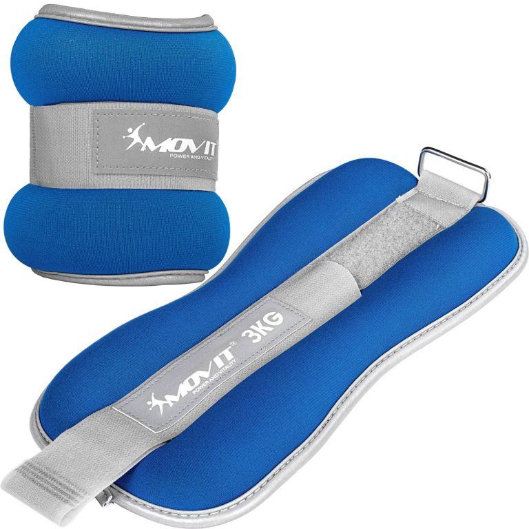 Neoprenové zátěžové reflexní manžety - 2 x 3 kg