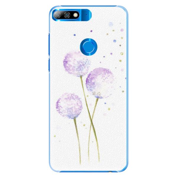 Plastové pouzdro iSaprio - Dandelion - Huawei Y7 Prime 2018