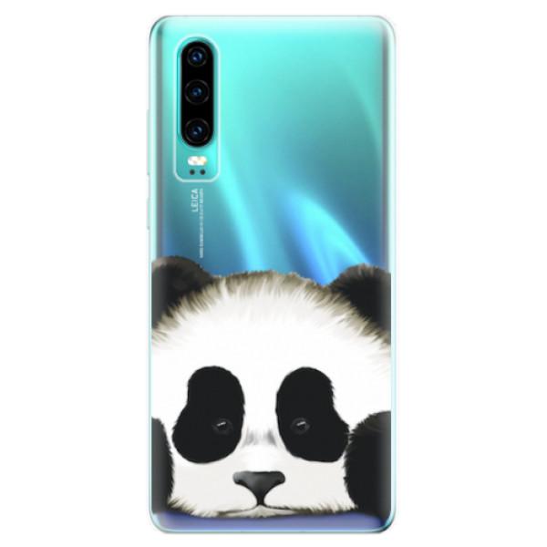 Odolné silikonové pouzdro iSaprio - Sad Panda - Huawei P30