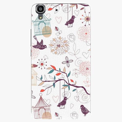 Plastový kryt iSaprio - Birds - Huawei Ascend Y6
