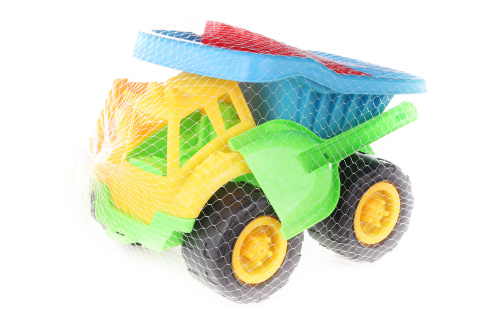 Auto na písek s bábovičkami