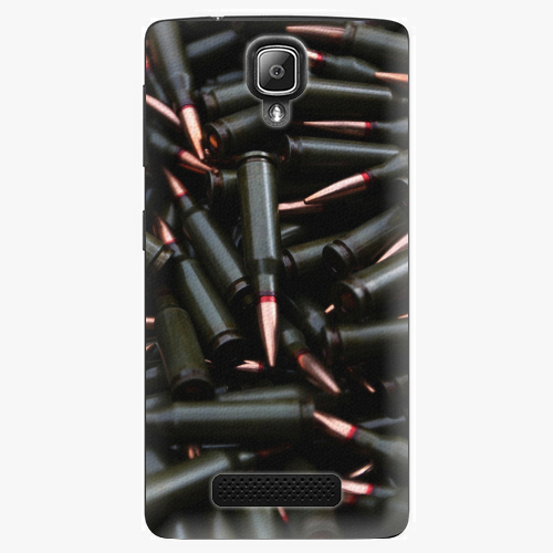 Plastový kryt iSaprio - Black Bullet - Lenovo A1000