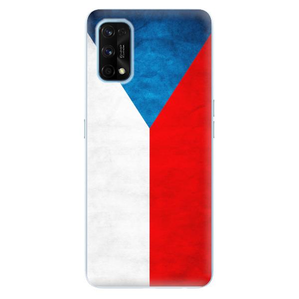 Odolné silikonové pouzdro iSaprio - Czech Flag - Realme 7 Pro