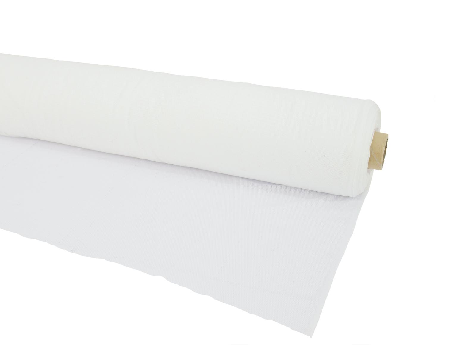 Vodopropustná zakrývací tkanina, 300x100 cm, bílá