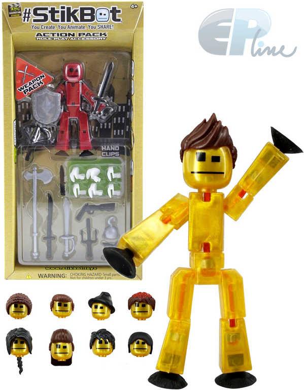 EP line Stikbot akční figurka plastová tematický set s doplňky - 3 druhy