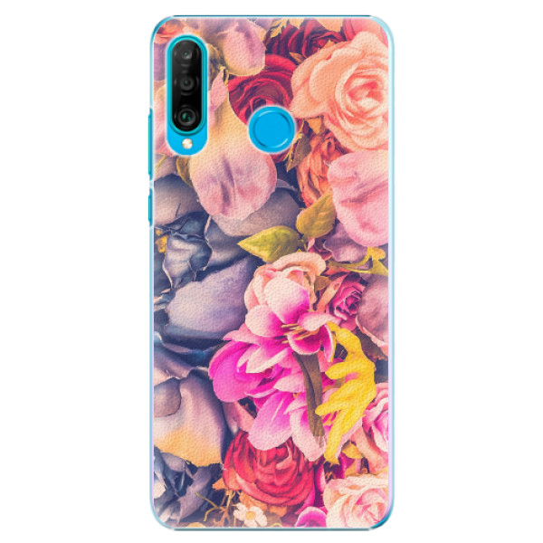 Plastové pouzdro iSaprio - Beauty Flowers - Huawei P30 Lite