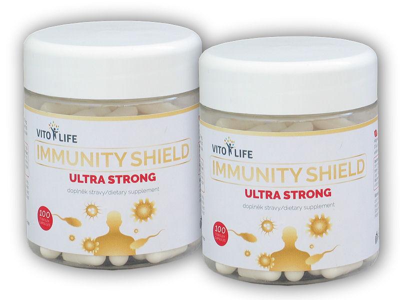 2x Immunity shield ultra strong 100 kps.