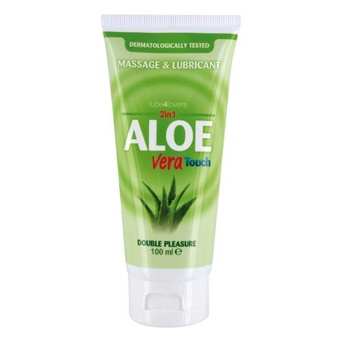 Lubrikační a masážní gel ALOE VERA TOUCH - 100 ml