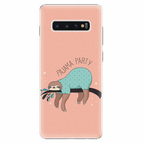 Plastový kryt iSaprio - Pajama Party - Samsung Galaxy S10+