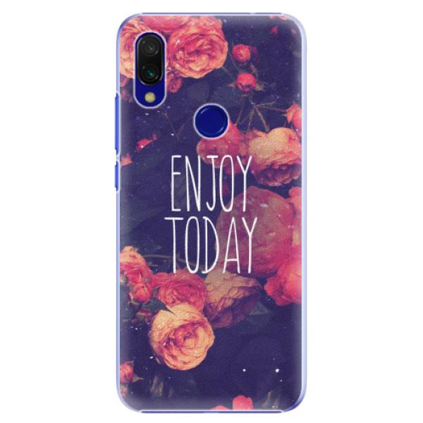 Plastové pouzdro iSaprio - Enjoy Today - Xiaomi Redmi 7