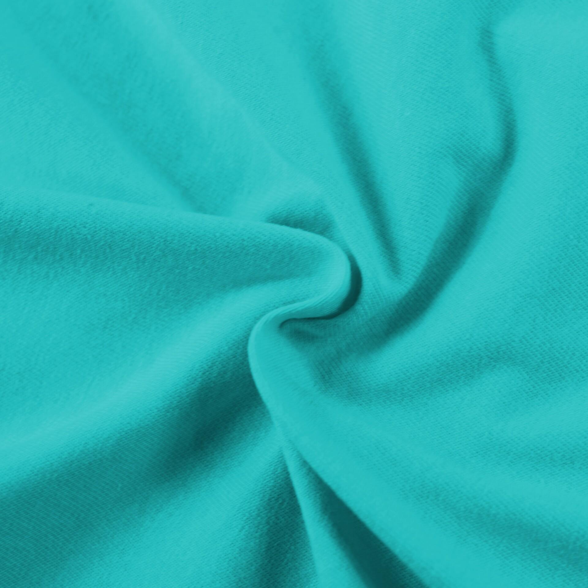 Jersey prostěradlo tyrkysové, Výběr rozměru - 100x200cm