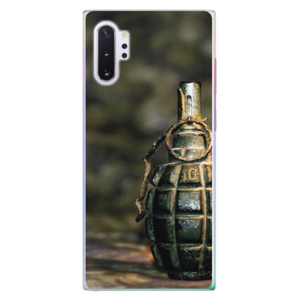 Plastové pouzdro iSaprio - Grenade - Samsung Galaxy Note 10+