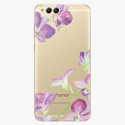 Plastový kryt iSaprio - Purple Orchid - Huawei Honor 7X