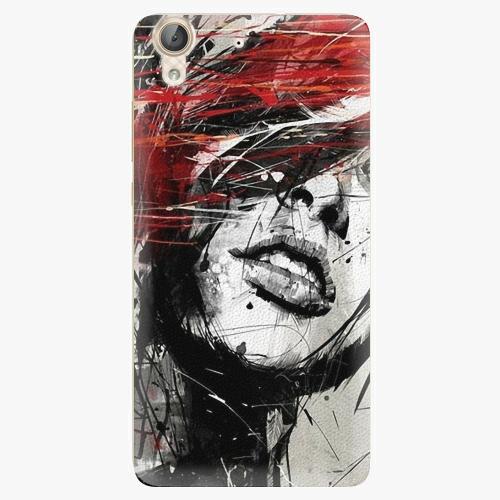 Plastový kryt iSaprio - Sketch Face - Huawei Y6 II