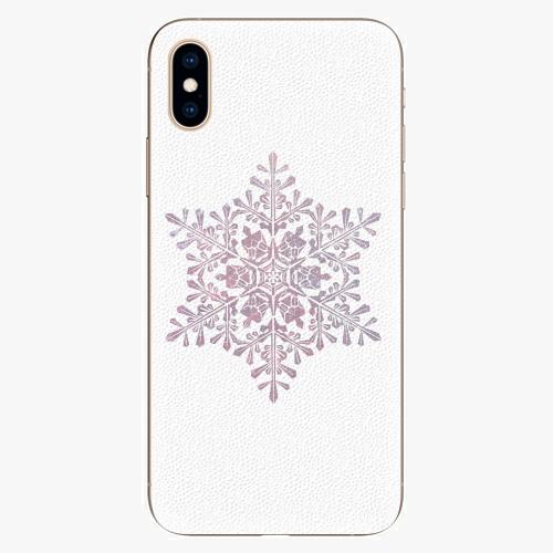 Plastový kryt iSaprio - Snow Flake - iPhone XS