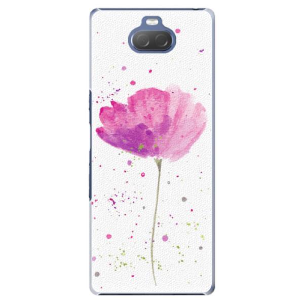 Plastové pouzdro iSaprio - Poppies - Sony Xperia 10 Plus