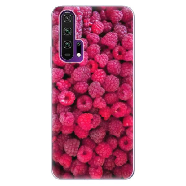 Odolné silikonové pouzdro iSaprio - Raspberry - Honor 20 Pro