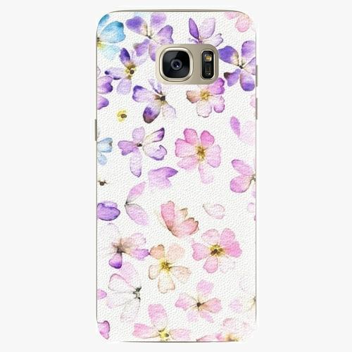 Plastový kryt iSaprio - Wildflowers - Samsung Galaxy S7 Edge
