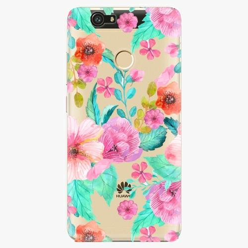 Plastový kryt iSaprio - Flower Pattern 01 - Huawei Nova