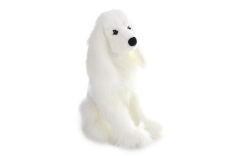Plyš Pes kokršpaněl bílý