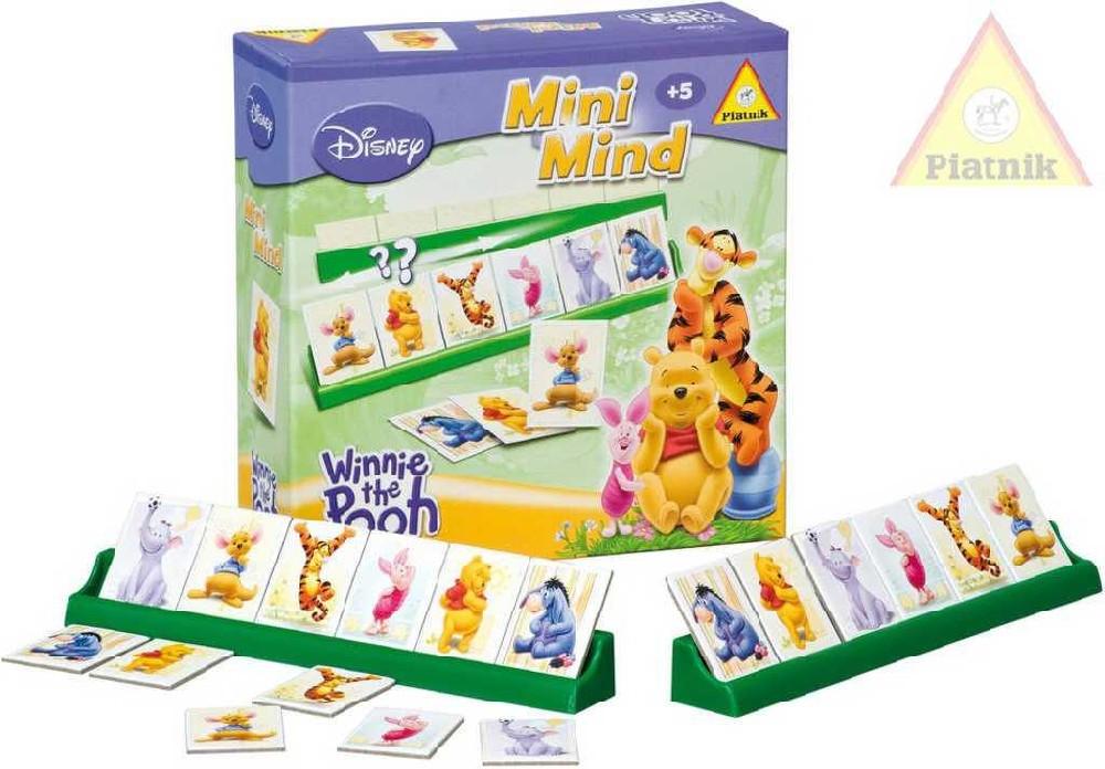 PIATNIK Hra Mini Mind Disney Medvídek Pú *SPOLEČENSKÉ HRY*