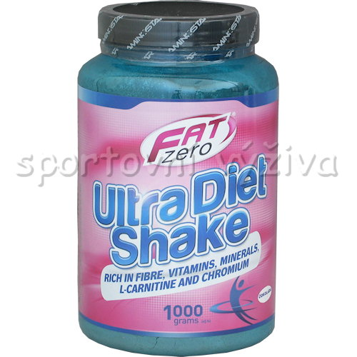Fat Zero Ultra Diet Shake - 1000g-banan