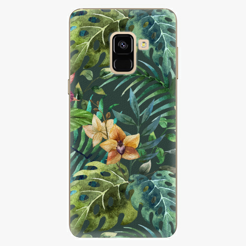 Plastový kryt iSaprio - Tropical Green 02 - Samsung Galaxy A8 2018