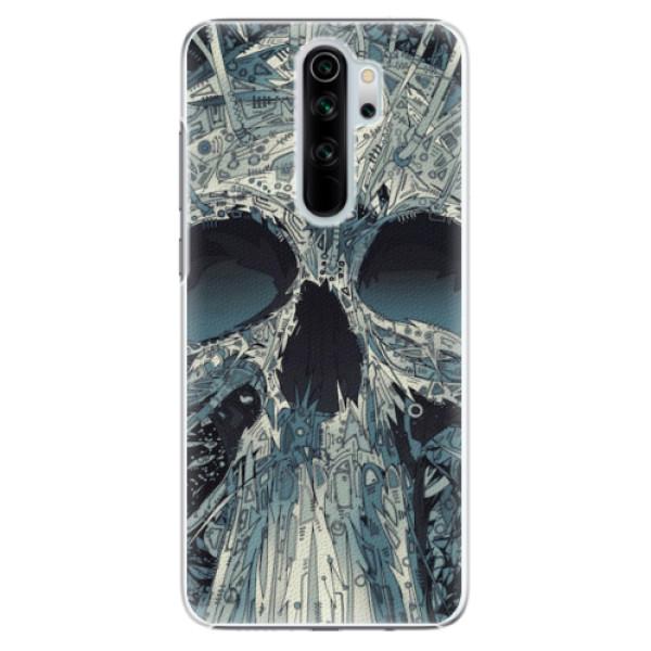Plastové pouzdro iSaprio - Abstract Skull - Xiaomi Redmi Note 8 Pro