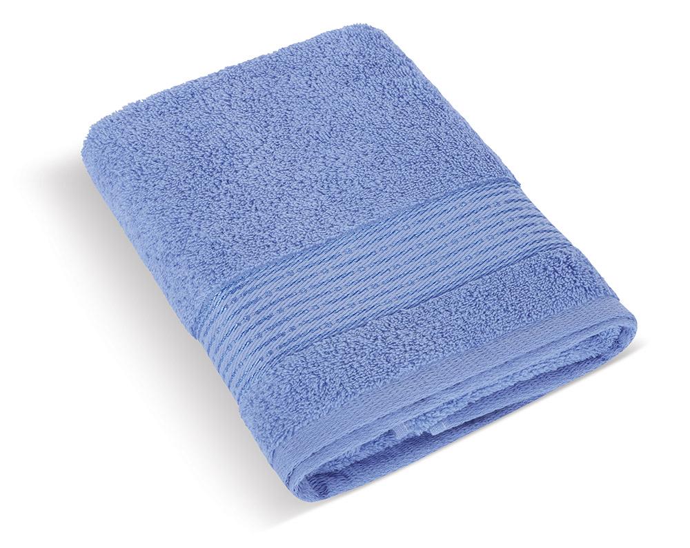 Froté ručník 50x100cm proužek 450g modrá