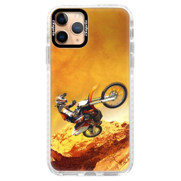 Silikonové pouzdro Bumper iSaprio - Motocross - iPhone 11 Pro