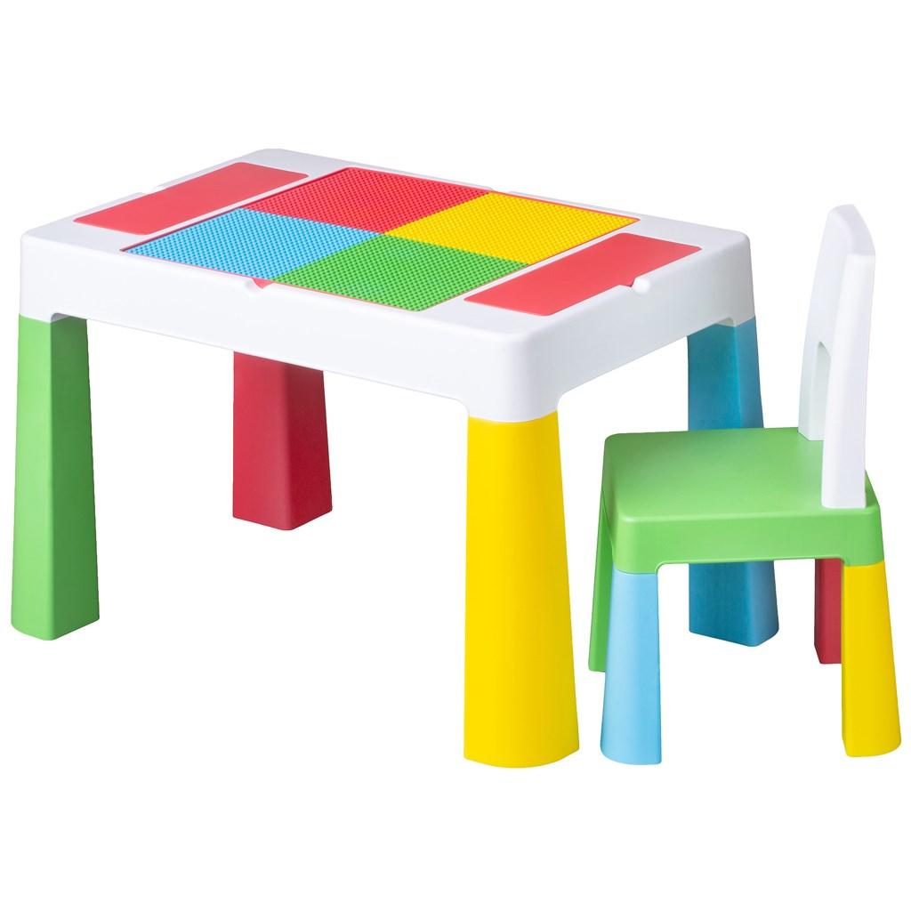 Dětská sada stoleček a židlička Multifun