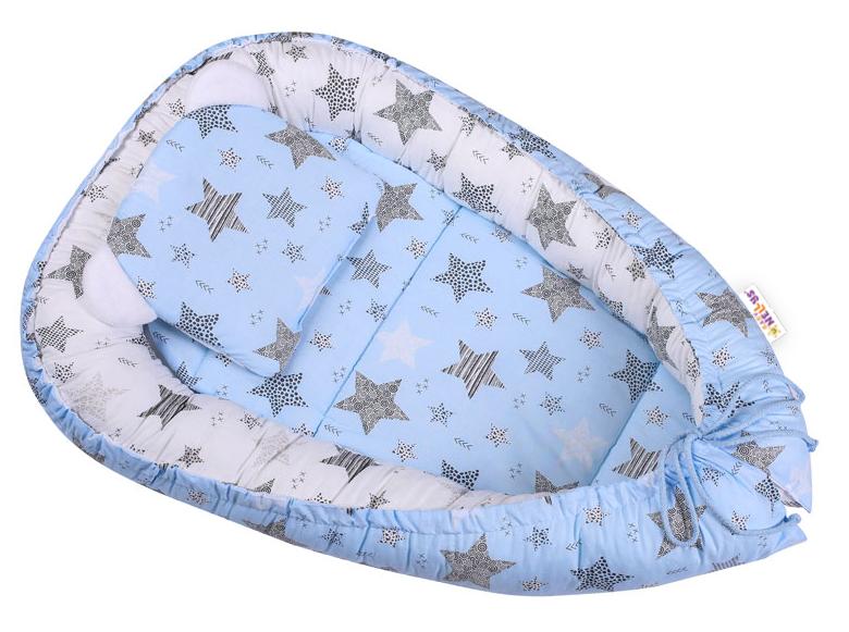baby-nellys-sada-komplet-oboustranne-hnizdecko-50-x-80-cm-starmix-modra