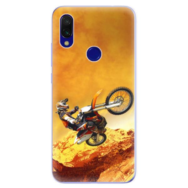 Odolné silikonové pouzdro iSaprio - Motocross - Xiaomi Redmi 7