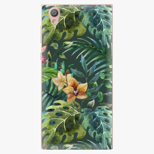 Plastový kryt iSaprio - Tropical Green 02 - Sony Xperia L1
