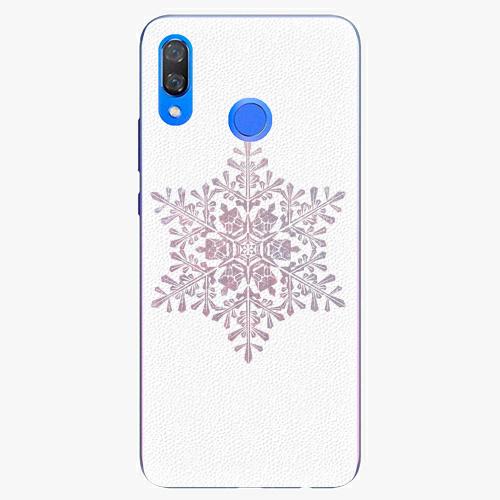 Plastový kryt iSaprio - Snow Flake - Huawei Y9 2019