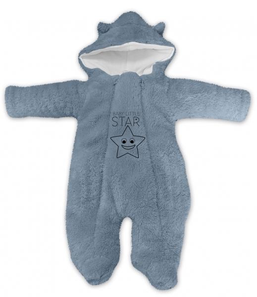 baby-nellys-zimni-chlupackova-kombinezka-little-star-seda-vel-68-68-4-6m