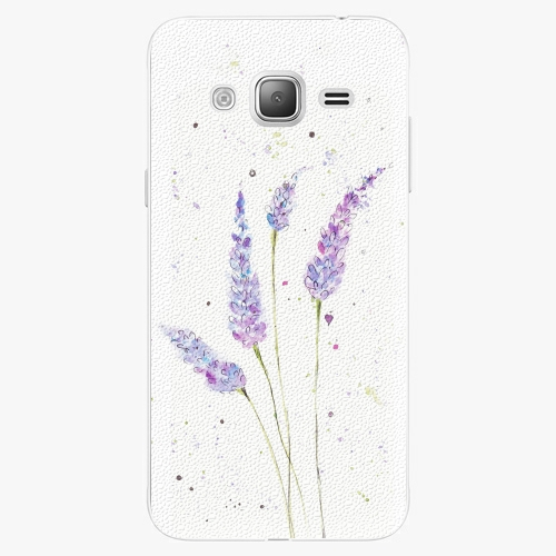 Plastový kryt iSaprio - Lavender - Samsung Galaxy J3 2016