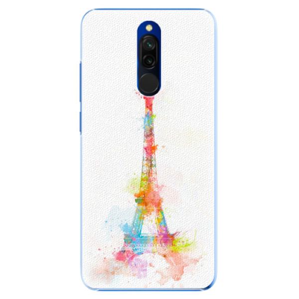 Plastové pouzdro iSaprio - Eiffel Tower - Xiaomi Redmi 8