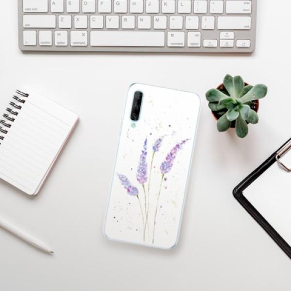 Odolné silikonové pouzdro iSaprio - Lavender - Huawei P Smart Pro
