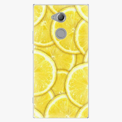 Plastový kryt iSaprio - Yellow - Sony Xperia XA2 Ultra