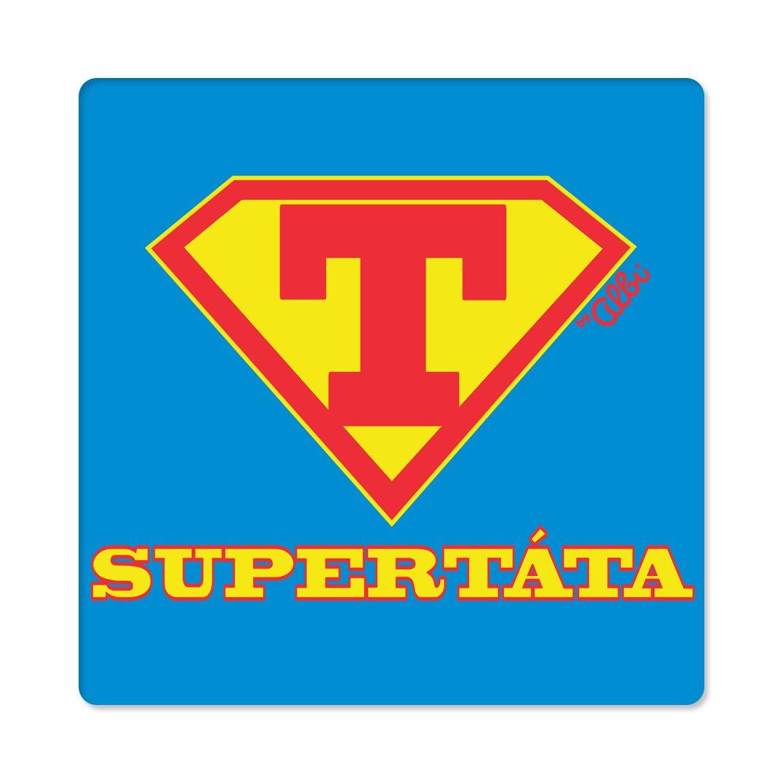 - Pánské humorné tričko - Supertáta, vel. XL