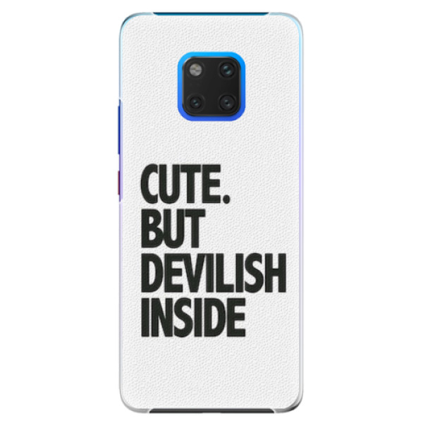 Plastové pouzdro iSaprio - Devilish inside - Huawei Mate 20 Pro