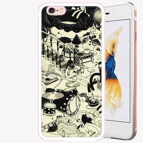 Plastový kryt iSaprio - Underground - iPhone 6/6S - Rose Gold