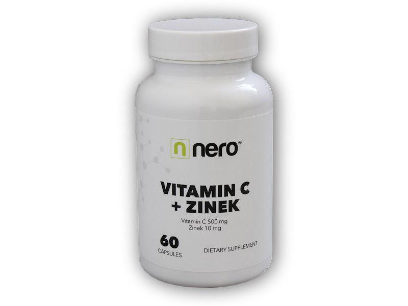 Vitamin C + Zinek 60 kapslí