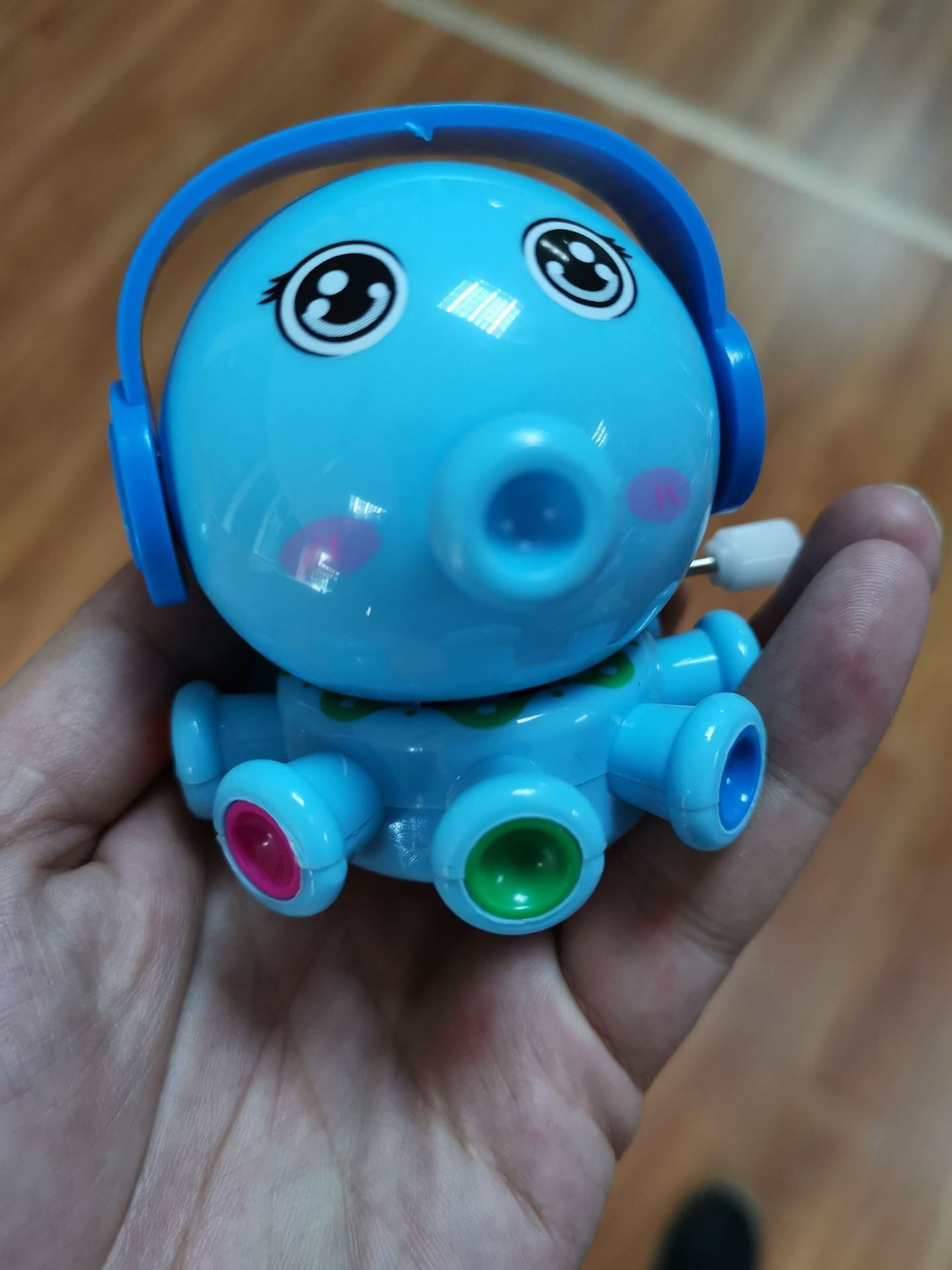 Hračka na klíček - chobotnice